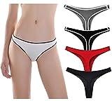 Femaroly - Bragas de cintura baja sexy para mujer