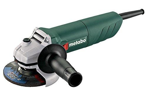Metabo W 750-115 - Amoladora angular (11000 RPM, Negro, Verde, Gris, 1,7 Nm, M14, 88 dB, 3 dB)