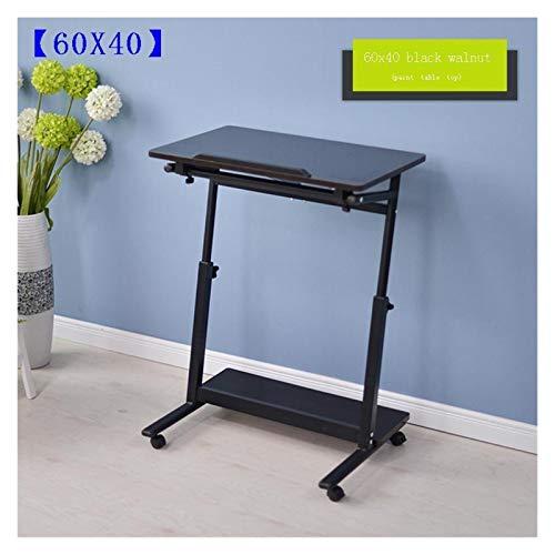 RTYU Tafel Schreibtisch - Mesa ajustable para ordenador portátil, mesa de estudio, escritorio, mesa auxiliar (color: versión B)