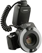 YONGNUO YN-14EX YN14EX TTL Macro Ring Flash/LED Flash Light with Adapter Ring for Canon EOS DSLR Cameras as Canon MR-14EX