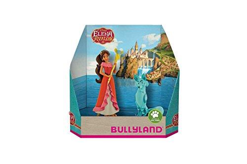 Bullyland 13244 - Spielfigurenset, Walt Disney Elena von Avalor - Elena und Zuzo, liebevoll handbemalte Figuren, PVC-frei, tolles Geschenk für Jungen und Mädchen zum fantasievollen Spielen