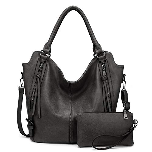 Tote Bag for Women PU Leather Shoulder Bags Fashion Hobo Bags Large Purse and Handbags with Adjustable Shoulder Strap