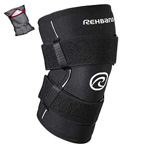 Ziatec Edition Rehband X-RX Knee Support - Rodillera Fuerte | Soporte Entrenamiento con Pesas, Crossfit, Lesiones de ligamentos, desgarro de meniscos, LCA, LCL
