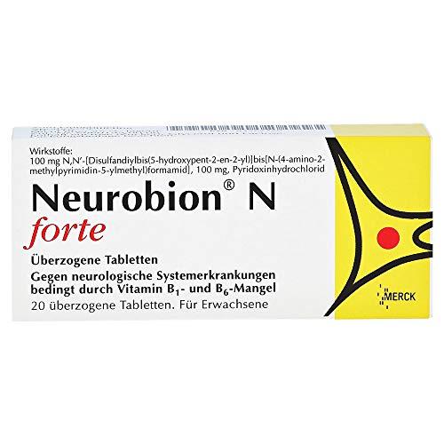 Neurobion N forte, 20 St. Tabletten