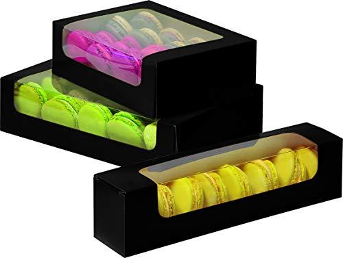 NAILFUN 30 Petits Pots Transparents dans une Bo/îte de Rangement