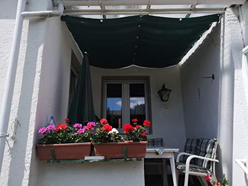 Götz Gardinen Maß-Konfektion Exklusive Beschattung Terrassenbeschattung mediterraner Flair XXL extra Maßanfertigung