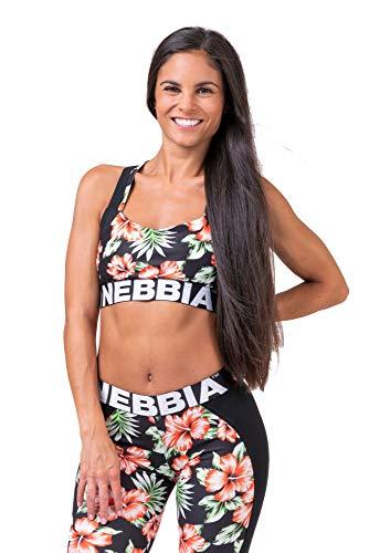 Nebbia Aloha Babe Mini Top 551 - Sport BH - Bodybuilding - Gym Wear - Crossfit - Running XS