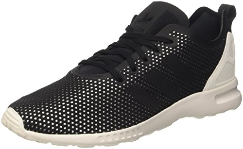 adidas Damen Zx Flux ADV Smooth W Sneakers, Schwarz (Core Black/Core Black/Core White), 38 2/3 EU