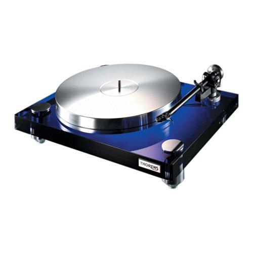 Thorens TD 2030 Audio- - Plattenspieler (Audio-Plattenspieler mit Riemenantrieb, Blau, Metall, 33 1/3,45, AC, 115-230)