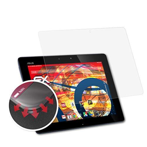 atFolix Schutzfolie kompatibel mit Asus Transformer Pad TF300T Folie, entspiegelnde & Flexible FX Bildschirmschutzfolie (2X)