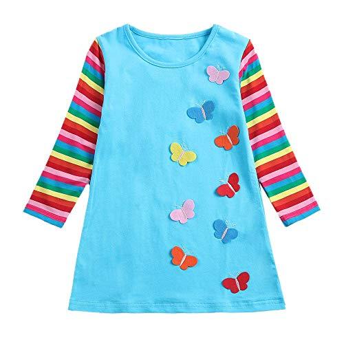JUTOO 2019 Nios pequeos Bebs bebs Slido con Pliegues Fruncidos Princesa Vestidos Ropa