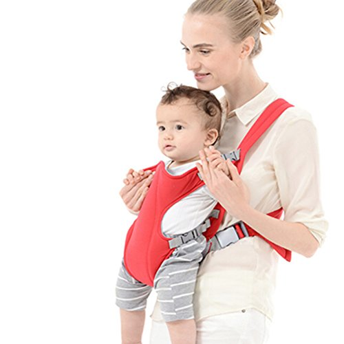 OPSLEA Bequeme sichere Verstellbare Bund Ergonomische Babytragegurte mit Hüft Sitzpositionen für Kleinkinder