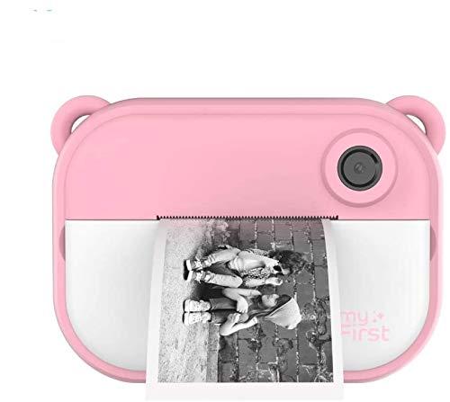 Oaxisインクレス・その場で印刷myFirst Camera Insta II 二代 1200万画素 デュアルレンズ タイマー撮影 10秒印刷 超軽量 ピンク
