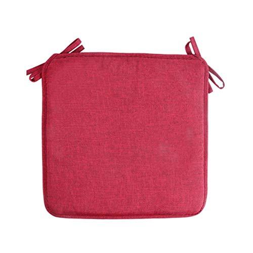 POMU 40x40cm Antislip Sofa Zitkussen Pure Kleur Vierkant Zitkussen Zacht Kussen Voor Kinderstoel Stoelen