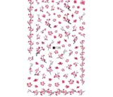 SUNYU Nail Sticker Dandelion Flower Adhesive Nail Art Transfer Decals Tip Pegatinas De Unas Al Agua Película para Unhas 2 Pcs/Set 3D