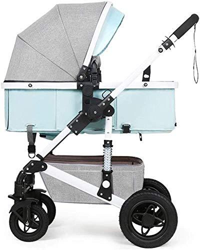 Pushchairs Bassinet kinderwagen 0-3 jaar oud kinderen converteerbare baby kinderstoel 5-punts veiligheidssysteem schokbestendig rubber 4 wielen verstelbare stoel baby producten
