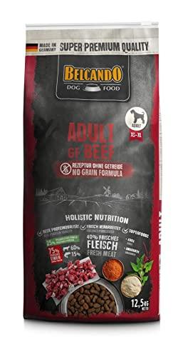 Belcando Adult GF Beef [12,5 kg] getreidefreies Hundefutter | Trockenfutter ohne Getreide mit Rind | Alleinfuttermittel für ausgewachsene Hunde ab 1 Jahr