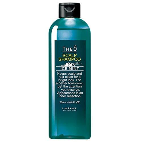 Lebel THEO Scalp Shampoo - 320ml - Ice Mint (Green Tea Set)