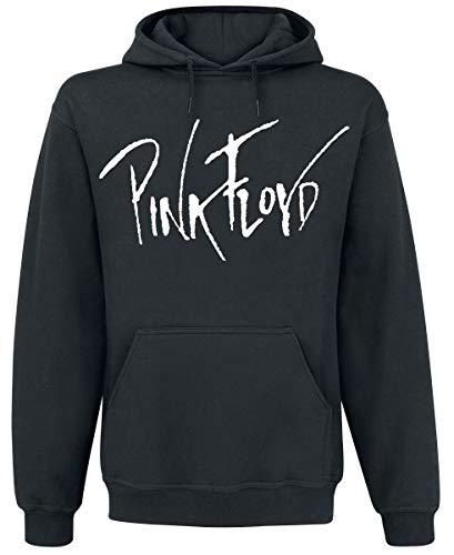 Pink Floyd The Wall Hombre Sudadera con Capucha Negro L, 80% algodón, 20% poliéster, Regular