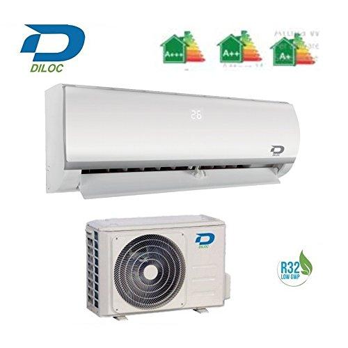 Diloc Klimaanlage 12000 Btu - Inverter Klimaanlage - D.WALL.IN12 + D.WALL.OUT12 Sharp Compressor