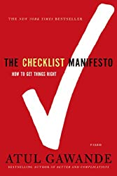 Time management books - The Checklist Manifesto: How to Get Things Right
