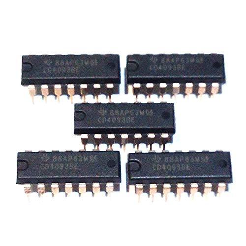 Malcatronics X5 Unidades cd4093 cd4093be cmos dip14