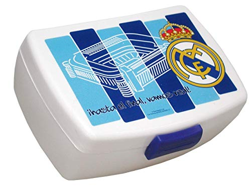CYP Imports LB-42-RM Sandwichera plástico, diseño Real Madrid, Multicolor, 0