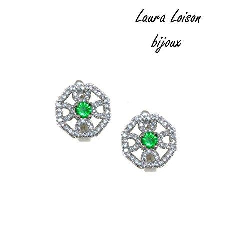 Laura Loison - Orecchini in argento 925 e cubic zirconia