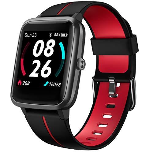 Smartwatch, LIFEBEE Orologio Fitness Uomo Donna Con GPS Integrato, Smart Watch Con Quadrante Personalizzato, Cardiofrequenzimetro da Polso Impermeabile 5ATM Activity Tracker Contapassi per Android iOS
