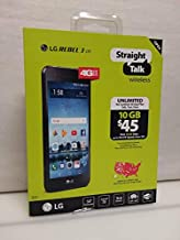 Straight Talk LG Rebel 3 4G LTE Prepaid Smartphone