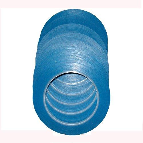 10 Rollen Zierstreifenband Zierlinienband Konturenband 6 mm x 33 m