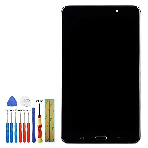 swark - Pantalla LCD compatible con Samsung Galaxy Tab 4 7.0 SM-T230 SM-T235 de 7 pulgadas, con herramientas