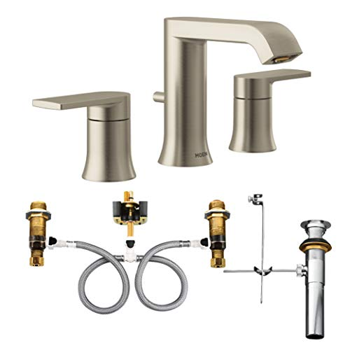 Moen T6708BN-9000 Genta Two-Handle Widespread Bathroom Fau...