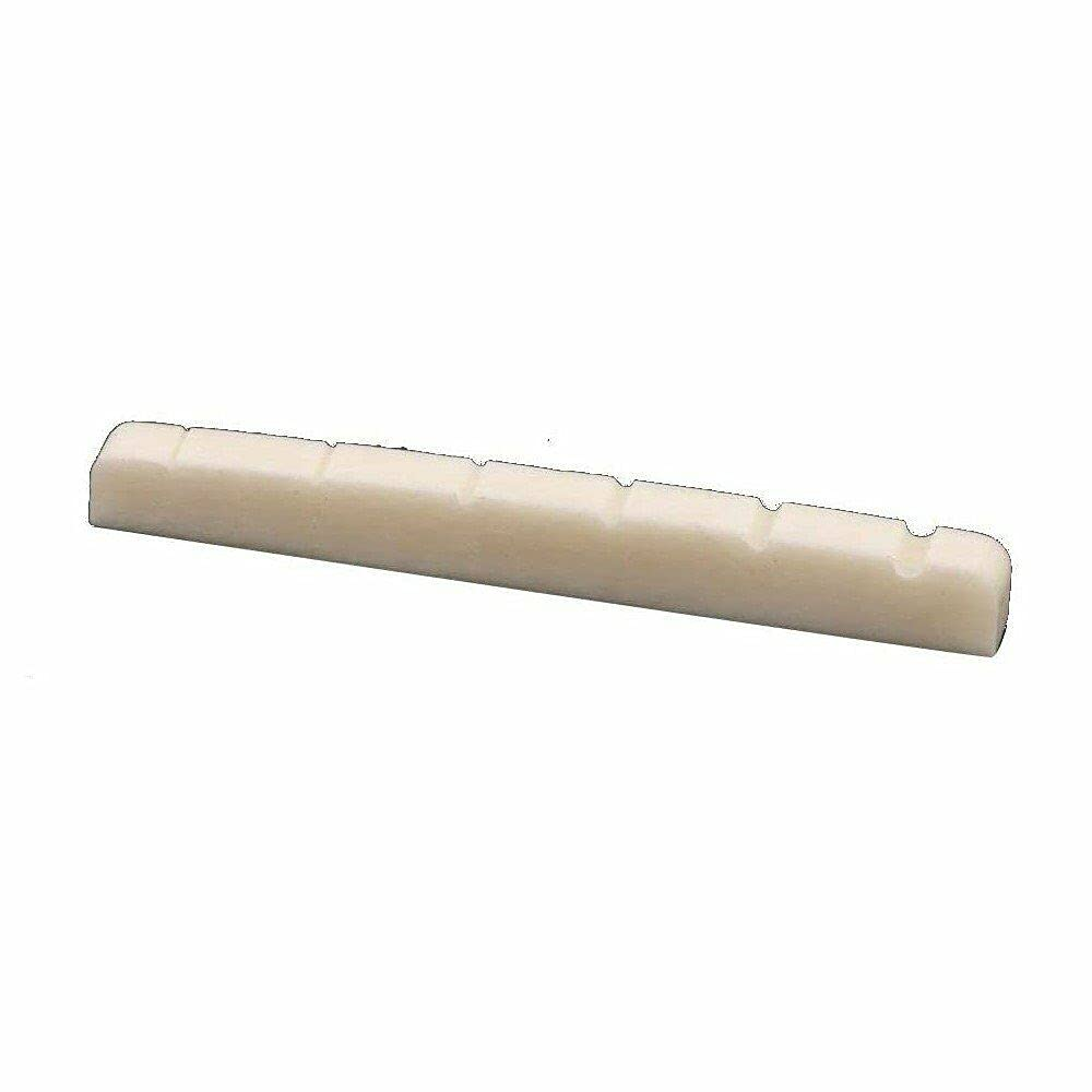 Guitar Parts for 42mm Flat Nut Bone Max 69% OFF Fe Ranking TOP20 Slotted Bottom