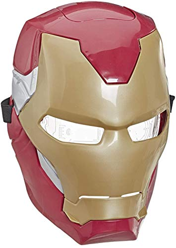 Avengers Marvel Iron Man Flip FX Mask with Flip-Activated Light Effects for Costume and Role-Play Dress Up