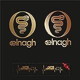 Sticker Mimo Adhesivos compatibles con ELNAGH Mini Kit 2, accesorios para caravanas, autocaravanas, autocaravanas, autocaravanas y camping (bronce 60 cm)