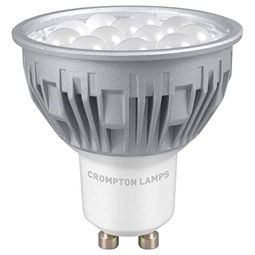 Crompton LED GU10 5W Lumière du jour Flood Dimmable