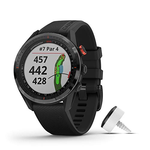 Garmin Approach S62 Smartwatch Golf Black + Garmin Approach CT10, 010-02200-02, schwarz (200)