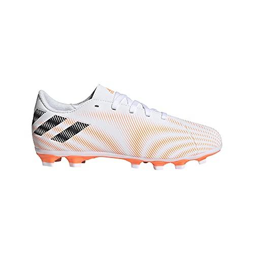 adidas Nemeziz .4 FxG J, Zapatillas de fútbol, FTWBLA/NEGBÁS/NARCHI, 38 EU