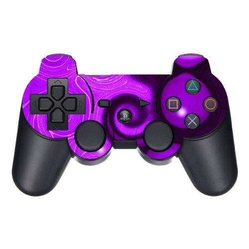 Disagu Design Skin für Sony PS3 Controller - Motiv Lila Wave