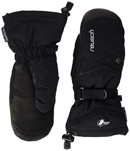 Reusch Damen Naria R-tex Xt Mitten Handschuh, schwarz (black / silver), 7