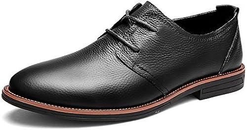 LOVDRAM Chaussures en Cuir pour Hommes Chaussures en Cuir Cuir Neuves pour Hommes Chaussures De Sport pour Hommes Chaussures De Mode Chaussures De Sport  votre satisfaction est notre cible