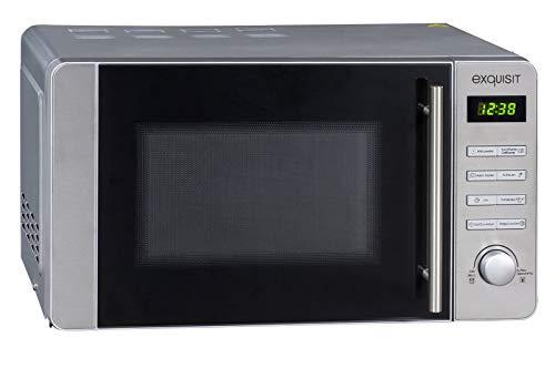 Exquisit Mikrowelle MW 8020 H / 800 Watt/Grill 1000 Watt/Heißluft 2500 Watt/Edelstahl-Front