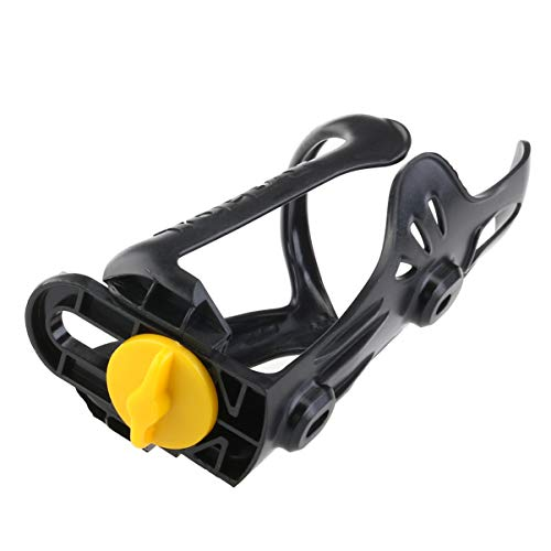 BESPORTBLE Plastic Bike Bottle Holder Adjustable Cage Bicycle Water Bottle Storage Cage for Road Mountain Bike Cycling Bicycle 2pcs Black