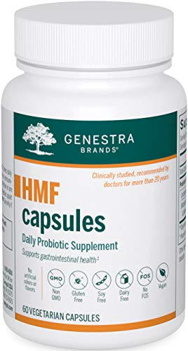 Genestra Brands - HMF Capsules - Probiotic Formula to Support Healthy Gut Flora - 60 Capsules