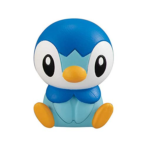Takara Pokemon Figure Clip Figulip Mini Figure Part 3~393 Pochama Piplup Plinfa