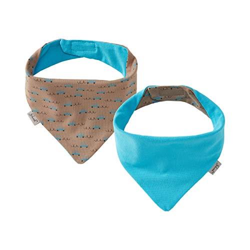 Jacob`s Le foulard reversible foulard bébé, Voitures taupe/bleu