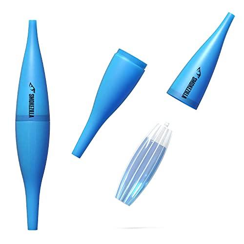 Smokezilla Ice Bazooka Blau | EIS-Mundstück mit Kühlakku | schraubbar | Shisha gekühlt