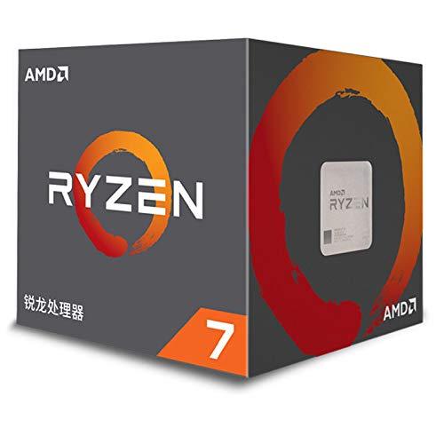BXKEJI R7-3700X.R7-5800X.R7-3800X.R7-2700X 7nm 8 núcleos 16 Hilos 3.6GHz CPU en Caja R7-3800X
