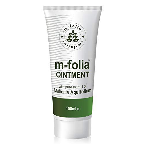 M-Folia Psoriasis Salbe mit reinem Extrakt Mahonia Aquifolium